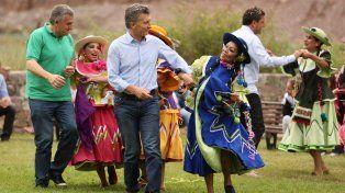 Un gualicho que no falla para  Macri, Evo Morales y Cartes