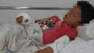 Policía hirió de bala a un menor de seis años
