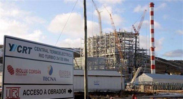 Rescinden el contrato con la firma encargada de la central termoeléctrica de Río Turbio