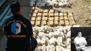 Organizador. A Burdino le achacan la distribución y venta de cocaína y marihuana.