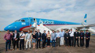 Paraná suma una nueva frecuencia de Aerolíneas Argentinas con la Capital Federal