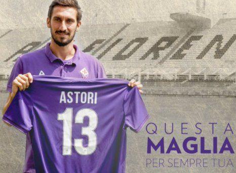 Fiorentina y Cagliari retiran el número 13 por Astori