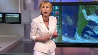 Nadia, la meteoróloga desminitió a Lombardi: Me rajaron y no ganaba $180 mil