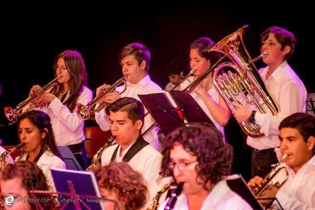 La Escuela Banda de Música abrió las inscripciones gratuitas para los talleres