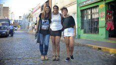 Inequidad. Verónica Veik, Belén Taborda y Eliana Maestre expusieron las diferencias en el mundo laboral.