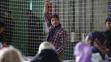 jones huala dice que al pueblo mapuche no le queda otra alternativa que el combate
