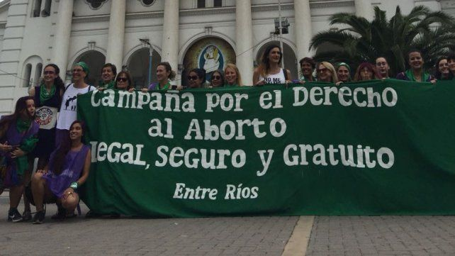 El comienzo de la concentración en Paraná. Foto UNO Paula Eder.