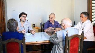 Reunión. El intendente avanzó en una propuesta con la cooperativa.