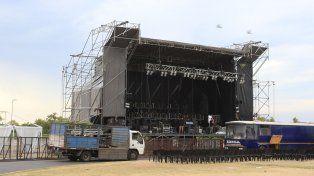 Todo listo. Paraná tendrá tres noches de diversas propuestas artísticas y musicales.