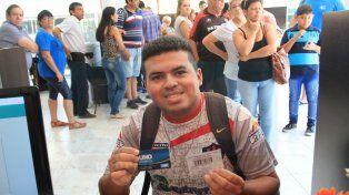 Los suscriptores de Beneficios UNO retiraron sus entradas para el partido Patronato - River
