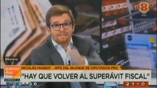 El incómodo momento del diputado Nicolás Massot: pensó que no estaba al aire y habló de más