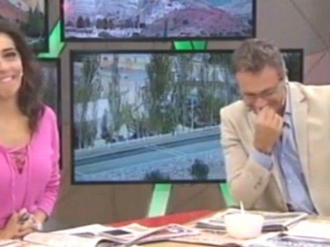 Video: el desopilante blooper en vivo de dos periodistas de TN
