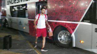 River Plate llegó a Paraná y fue recibido por sus hinchas