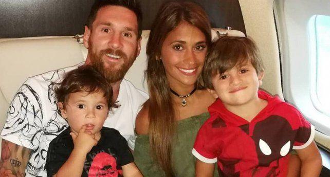 ¡Se adelantó! Nació Ciro Messi