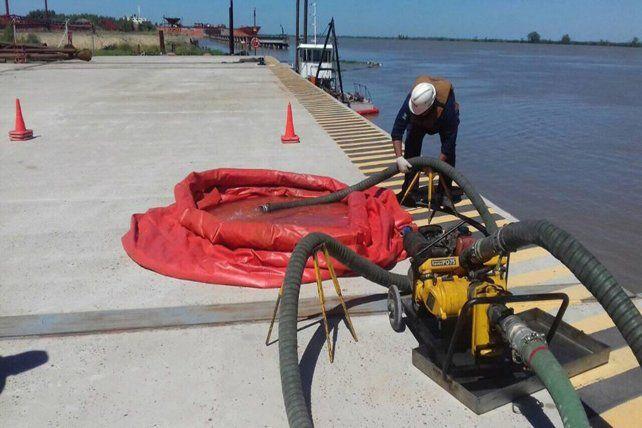 Prefectura aprobó el plan de contingencia del puerto de Ibicuy