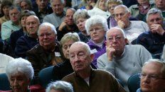 jubilados se declaran en alerta por la situacion del sistema previsional