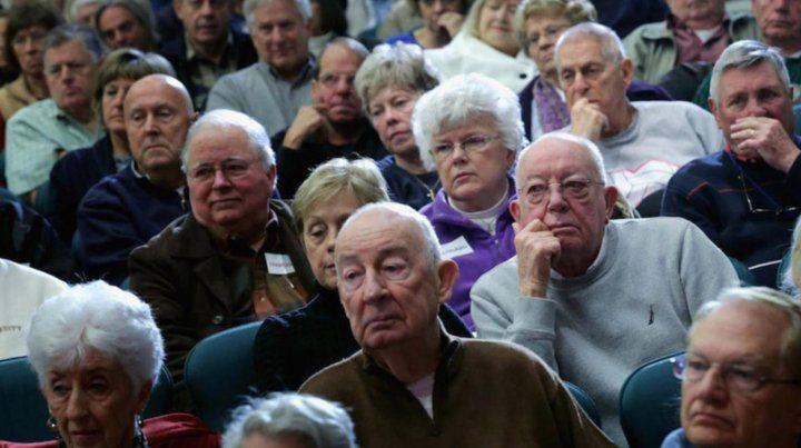 Jubilados se declaran en alerta por la situación del sistema previsional