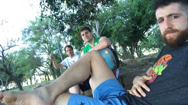 Descanso. Luego de un fin de semana intenso en Corrientes
