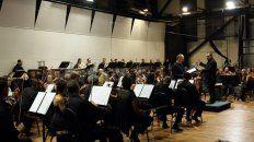Repertorio. Interpretaron Tres Bocetos Sinfónicos, de Guerreño, y La canción de la tierra, de Mahler.