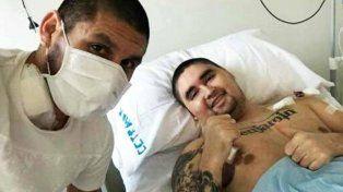 Luego de donarle médula ósea a su hermano, Villagra es titular en Atlético Tucumán