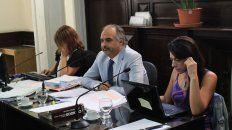 Satisfacción. El fiscal Candioti valoró la condena como también la postura del tribunal.
