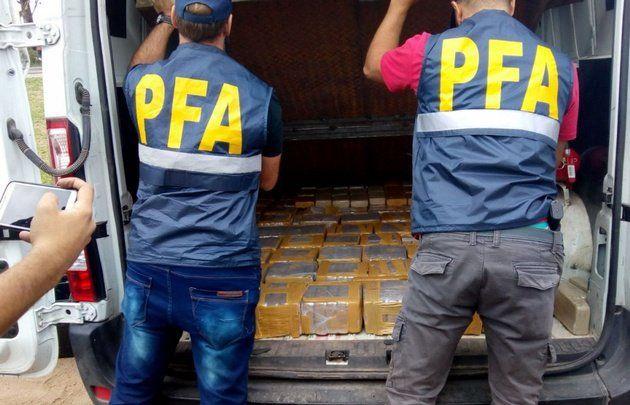 Incautaron 400 kilos de cocaína en Córdoba
