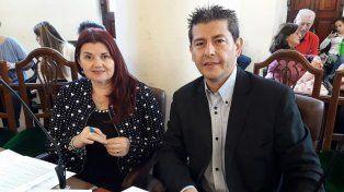 Renovadores. Los concejales Fadel y Díaz apoyarán la propuesta de Cambiemos para designar autoridades.