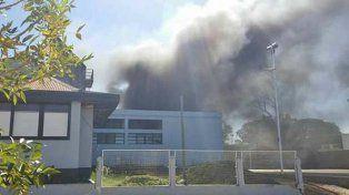 Cerca de 20 motos afectadas por un incendio en una comisaría de Concordia