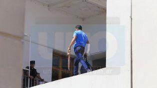 Un hombre amenazó con tirarse desde lo alto del Palacio Municipal
