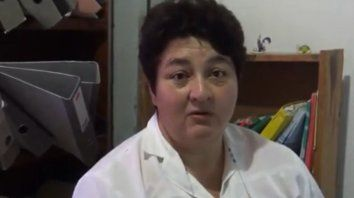 La directora, Silvia Mathey Dore, años atrás estuvo a punto de morir intoxicada. Apela a las autoridades provinciales.