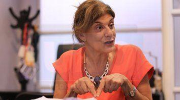 La presidenta delSTJ, ClaudiaMizawak, logró manejar la situación y permanecer tranquila cuando recibió el llamado. Foto UNO Archivo. Diego Arias.