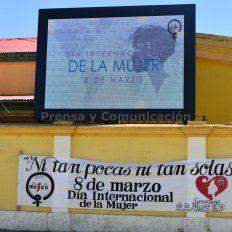 La Municipalidad de Bovril realizó un homenaje a las mujeres en el anfiteatro del Pueblo. Foto Municipalidad de Bovril.