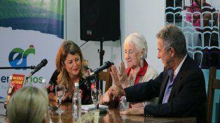 Calloni: Tenemos que hacer consignas creativas, fuertes, hermosas; los insultos no bastan