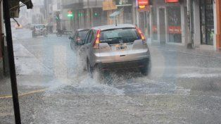 Anuncian lluvias y tormentas fuertes para Entre Ríos