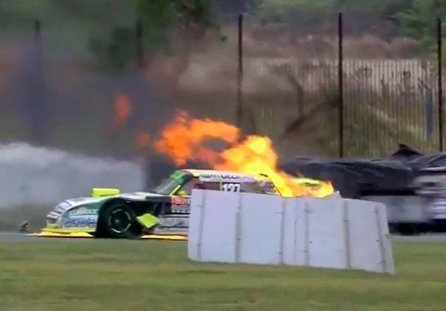 Piloto entrerriano tuvo una largada accidentada en el TC Pista Mouras