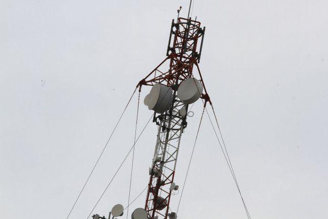 Antena en Paraná. Foto UNO Archivo.