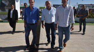 Bordet y Urtubey visitaron Expoagro. Los gobernadores de Salta y Entre Ríos fueron juntos a San Nicolás en el transcurso de la última semana.