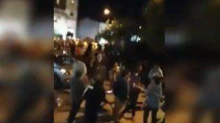 Vecinos de Chajarí marcharon contra el tarifazo de la luz