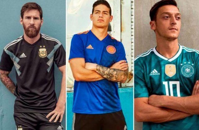 Dieron a conocer la camiseta alternativa para el Mundial de Rusia