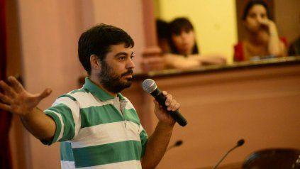 El ingeniero químico Marcos Tomasoni es profesor universitario y asesor técnico ambiental. Foto Facebook Sergio Urribarri.
