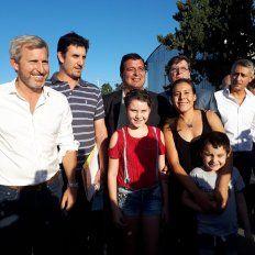 Con la visita de un ministro nacional, inauguraron viviendas en San Benito