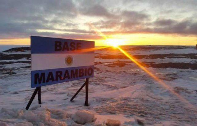 Un piloto fue encontrado muerto en la Base Marambio