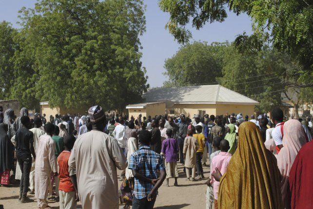 Liberan a 91 de las niñas secuestradas por Boko Haram hace un mes en Nigeria