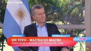 Macri: La inflación baja a una menor velocidad de la imaginé