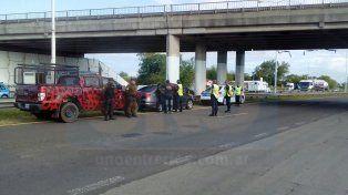 Gitanos. Los ocupantes del VW anunciaron a los Policías que iban con dinero para comprar autos.