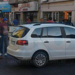 Viernes complicado: Caos vehicular en el microcentro de Paraná