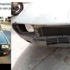 Apareció el R12 que le habían robado: era una pinturita y se lo destruyeron