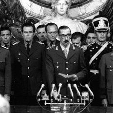 Terror. Videla presidió la Junta Militar durante los primeros cinco años del Proceso.