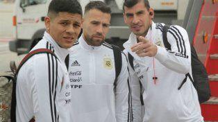 La selección desembarcó en España y comienza a prepararse en la casa de Real Madrid