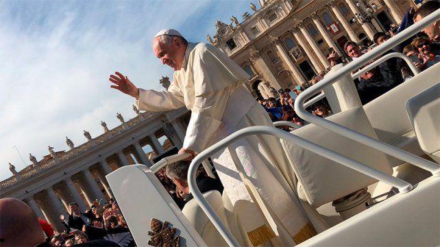 Francisco rechazó la tentación de hacer callar a los jóvenes